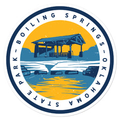 Boilings Springs State Park - Bubble-free sticker