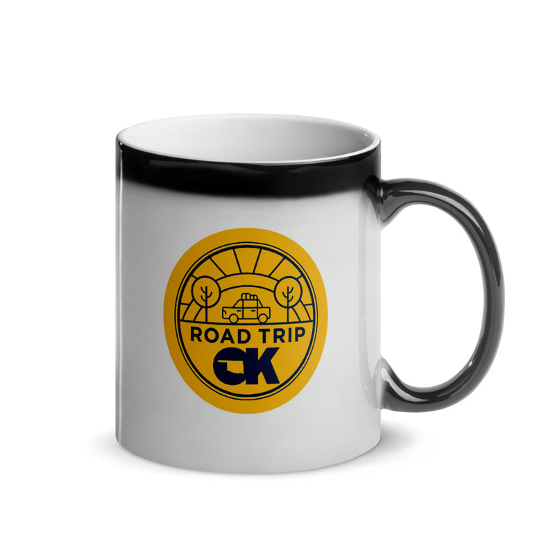 Oklahoma Road Trip  - Glossy Magic Mug