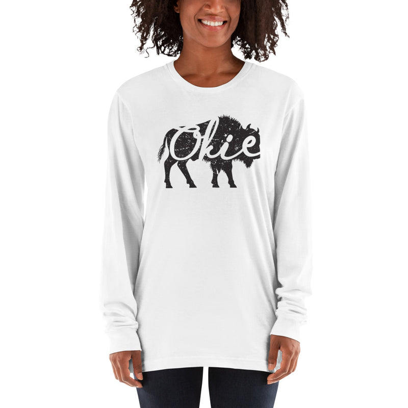 Okie Bison - Long Sleeve T-Shirt