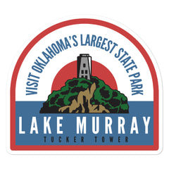 Lake Murray State Park - Bubble-free stickers