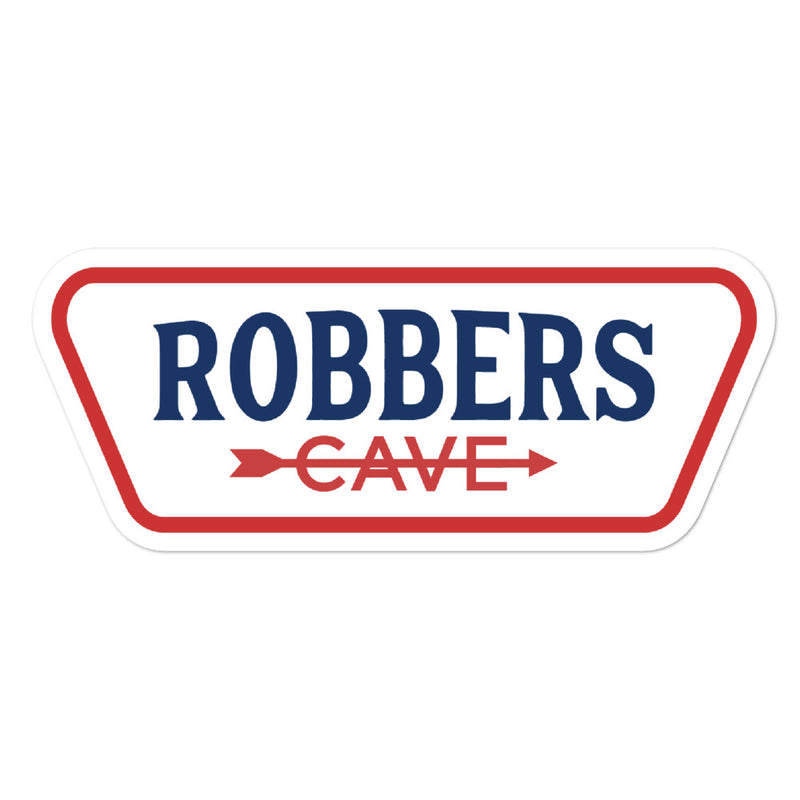 Robbers Cave State Park - Bubble-free stickers