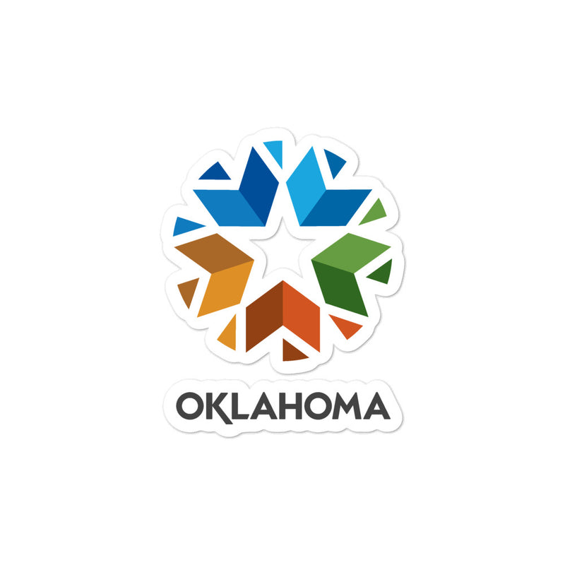 Oklahoma - Bubble-free stickers