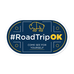 Oklahoma Road Trip - Bubble-free stickers