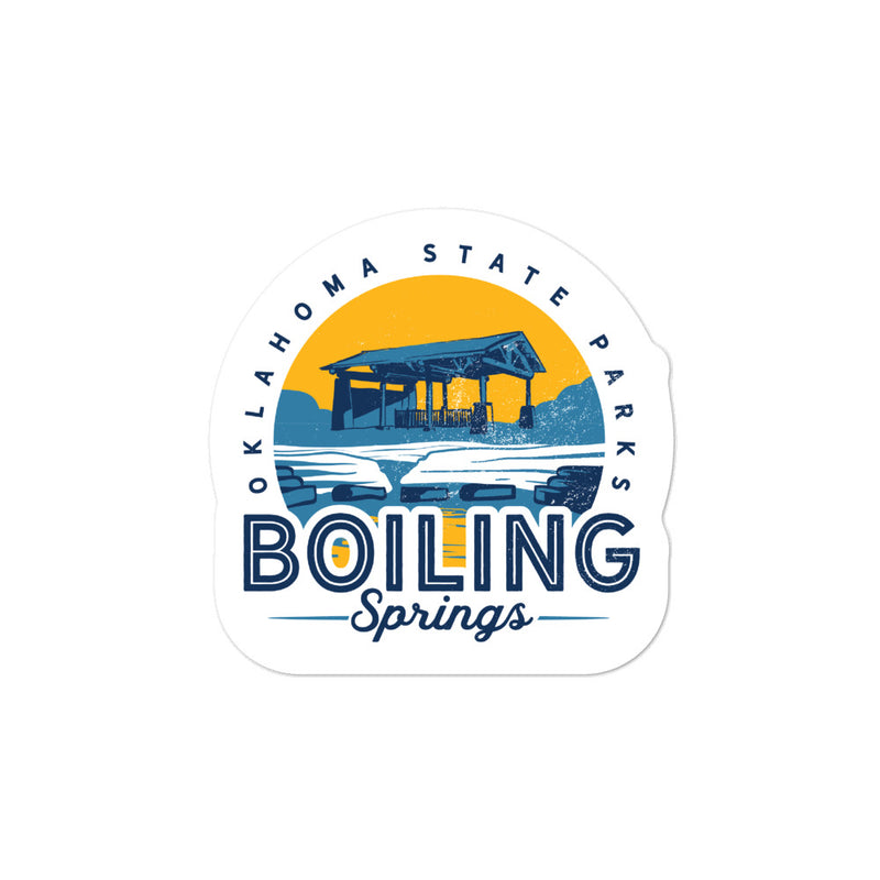 Boiling Springs State Park - Bubble-free stickers