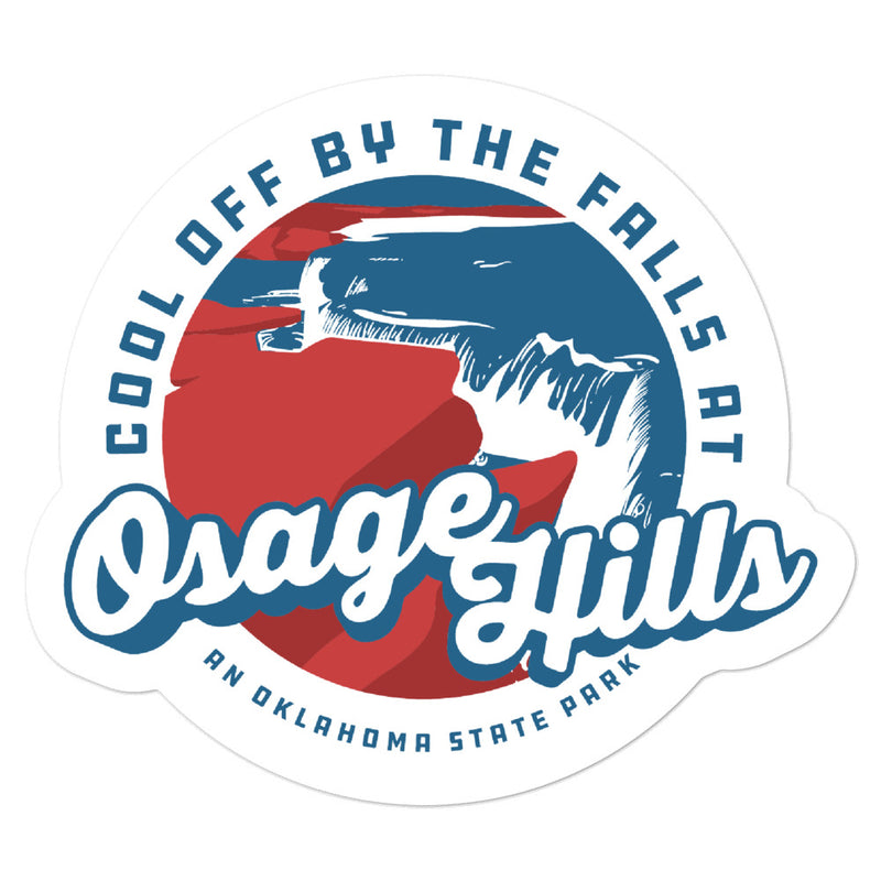 Osage Hills State Park - Bubble-free stickers