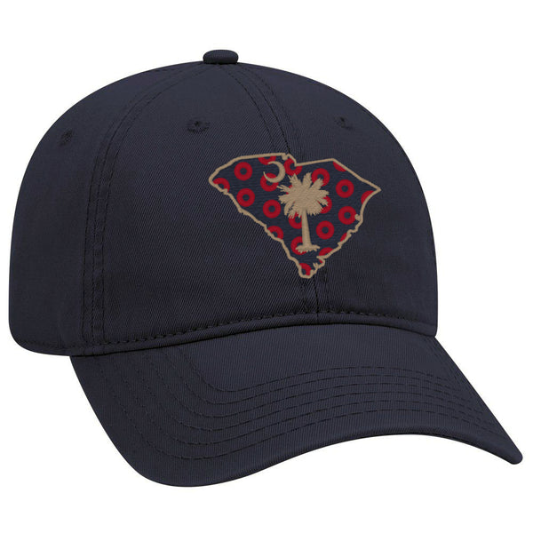 Palmetto State Donuts Washed Cotton Ball Cap