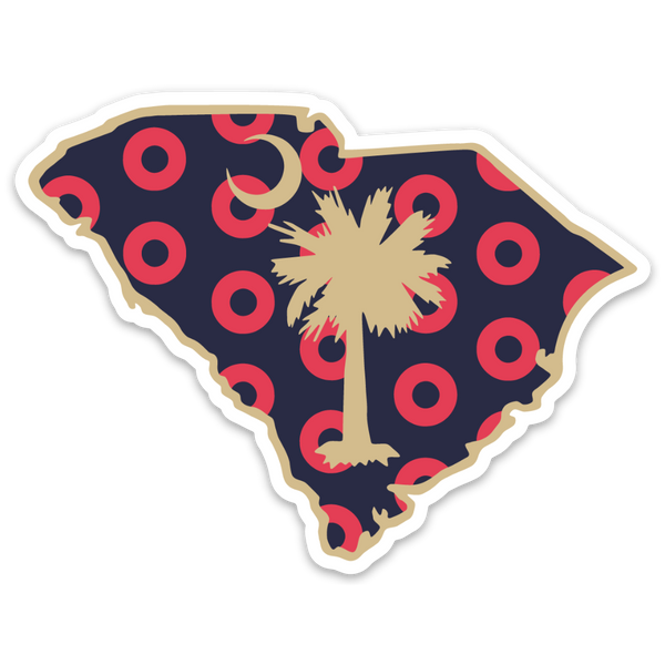 Palmetto State Donuts Decal