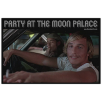 Party at the Moon Palace Decal