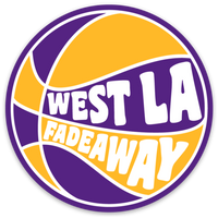 West LA Fadeaway Ball Decal