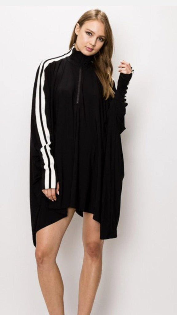 Dolman sleeve shirt or dress