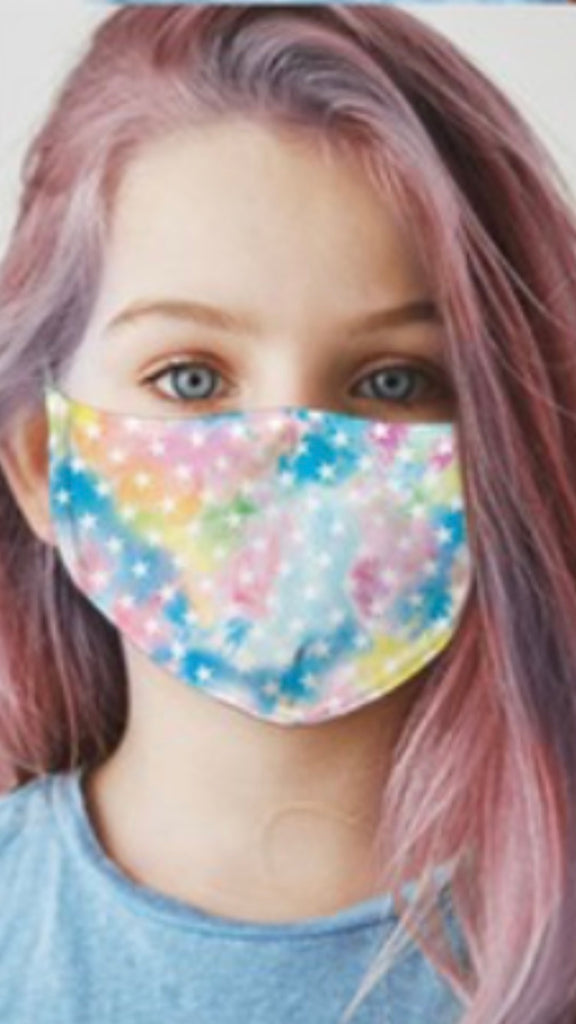 Kids tie-dye star Masks