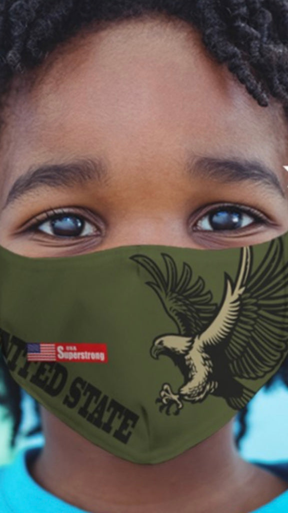 Kids masks green United States