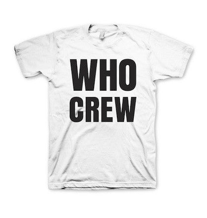 Who Crew T-Shirt (two sided)