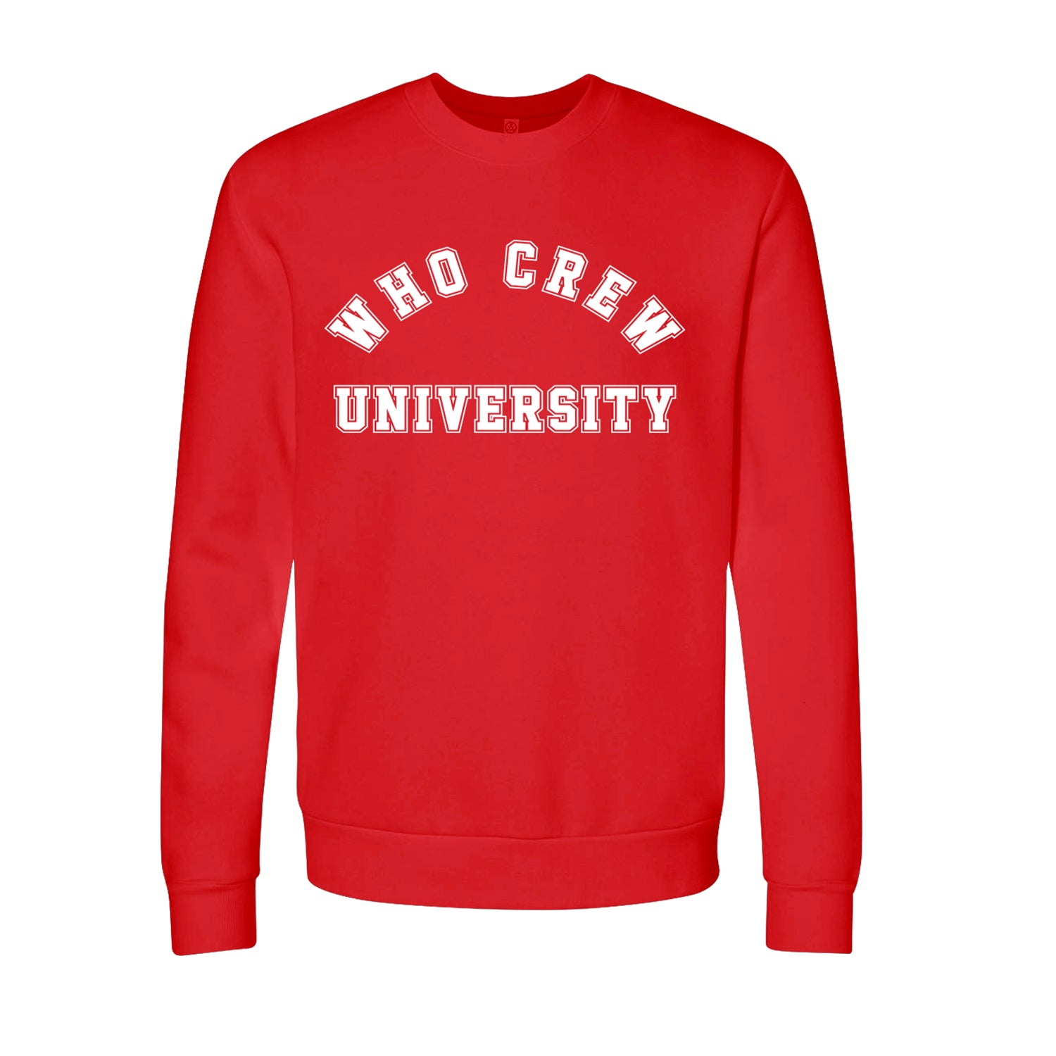 Who Crew University Crewneck (Limited Run)