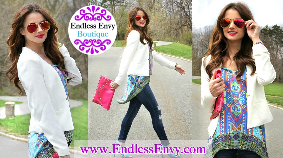 Mirrored Sunglasses at Endless Envy Boutique