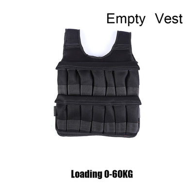 5kg 20kg 60kg Weighted Vest Adjustable Loading Weight