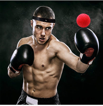 Kick Boxing Reflex Ball Head Band