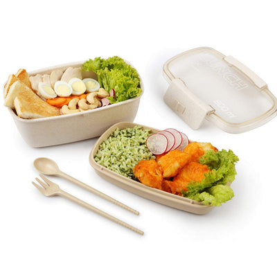 Eco-Friendly Wheat Straw Lunch Box