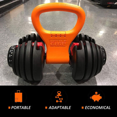 Kettle Gryp - Turn Dumbbells Into Kettlebells