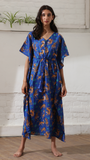 Queen Of The Jungle | The Zoey Collection | Cotton Printed Kaftan
