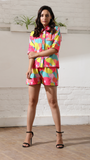 Round Abstract Luxe Shorts Nightwear (Women)