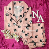 Peach Panda Nightwear