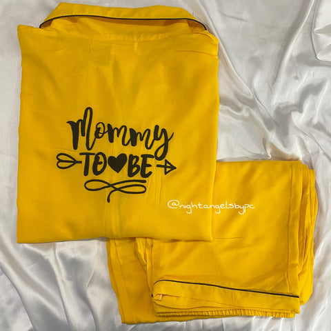Mommy To Be Sunshine & Bows Women Nightwear