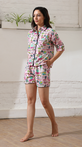 Travel Luxe Shorts Nightwear (Women)