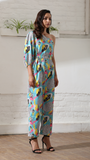 Abstract Off Shoulder Jumpsuit (Women)