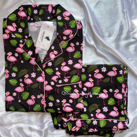 Black Flamingo Nightwear