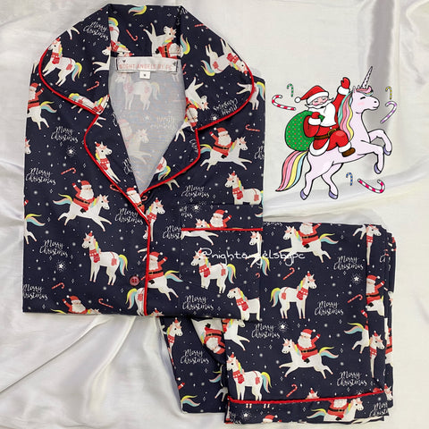 Santa's Unicorn! Nightwear