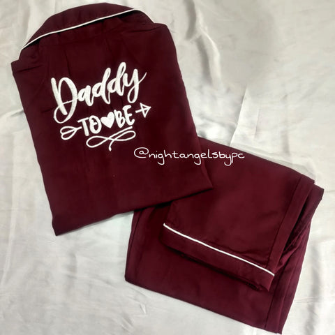 Daddy To Be Cotton Nightwear (Men)