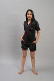 Black Beauty Shorts Set (Women)
