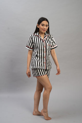 Striped Love Short Set (Women)