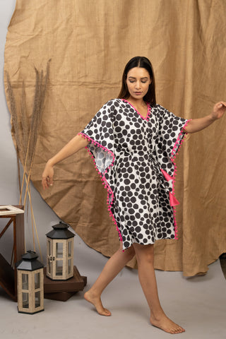 Dot Story | The Zoey Collection | Printed Kaftan
