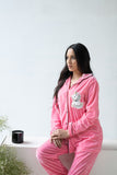 Unicorn Miracle Baby Pink Velvet Nightwear (Women)