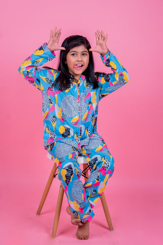 Quirky Abstract Kids Unisex Nightwear