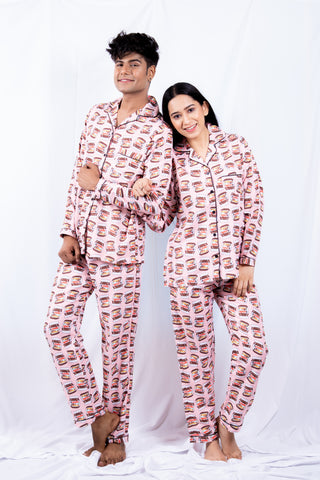 New Nutella Couple Nightwear