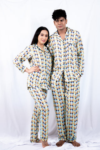 Minions Couple Nightwear