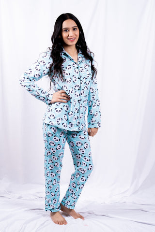 Green Panda Nightwear