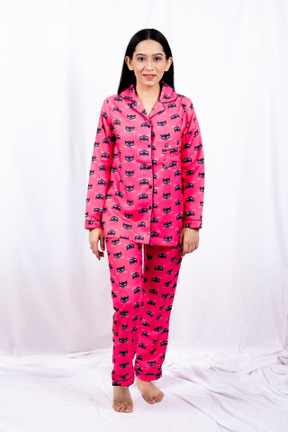 Fiery Cat Nightwear