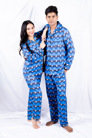Gym Couple Nightwear