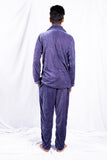 Silver Classic Velvet Nightwear (Men)