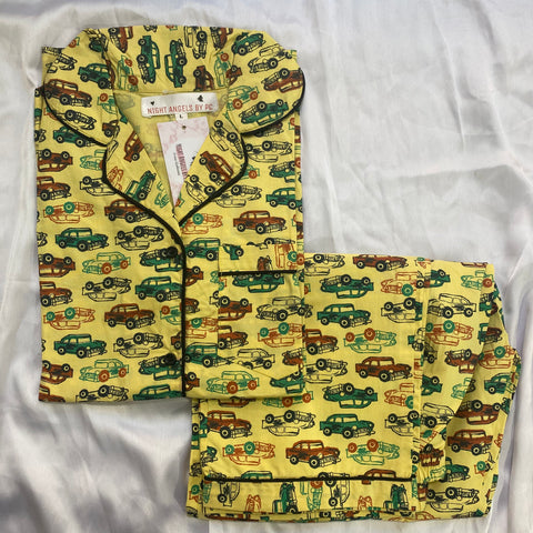 Yellow Cars Nightwear