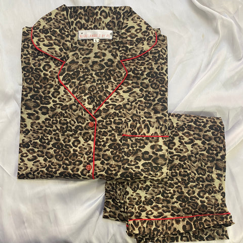 New Wild Leopard Nightwear