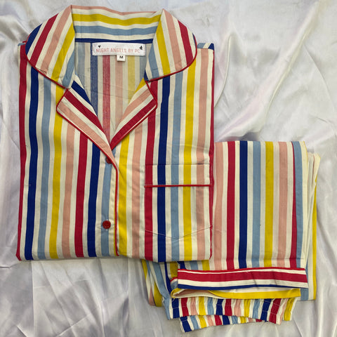 Rainbow Stripes Nightwear