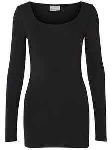 Vero Moda U Neck Long Sleeve Top
