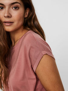Vero Moda Aware T Shirt - Pink