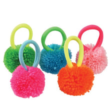 Load image into Gallery viewer, Pom Pom Hairbands Pot (set of 5)