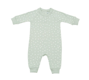 Bob & Blossom Spot Print All In One - Moss Grey